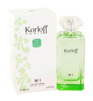 Korloff Paris Green by Korloff Eau De Toilette Spray 3 oz for Women