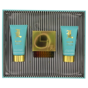 L Lamb by Gwen Stefani Gift Set -- 1.7 oz Eau De Parfum Spray + 2.5 oz Body Lotion + 2.5 oz Shower Gel for Women