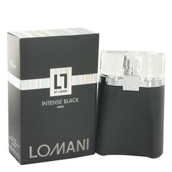 Lomani Intense Black by Lomani Eau De Toilette Spray 3.3 oz for Men