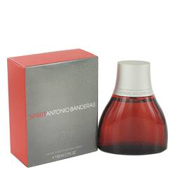 Spirit by Antonio Banderas Eau De Toilette Spray 1.7 oz for Men