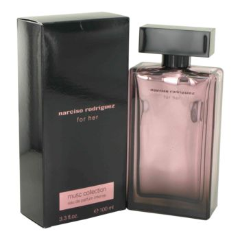 Narciso Rodriguez Musc by Narciso Rodriguez Eau De Parfum Intense Spray 3.3 oz for Women