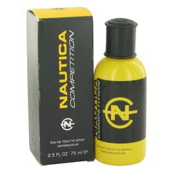 NAUTICA COMPETITION by Nautica Eau De Toilette Spray (Yellow Package Slightly Damaged Box) 2.5 oz for Men