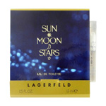 SUN MOON STARS by Karl Lagerfeld Vial (sample) .04 oz for Women