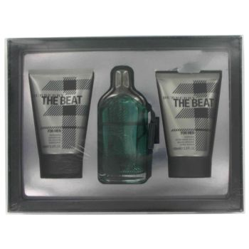 The Beat by Burberrys Gift Set -- 3.4 oz Eau De Toilette Spray + 3.4 oz After Shave Balm + 3.4 oz Shower Gel for Men