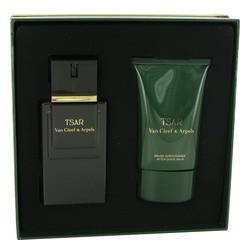 TSAR by Van Cleef & Arpels Gift Set -- 3.3 oz Eau De Toilette Spray + 3.3 oz After Shave Balm for Men