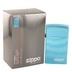 Zippo Blue by Zippo Eau De Toilette Refillable Spray 3 oz for Men