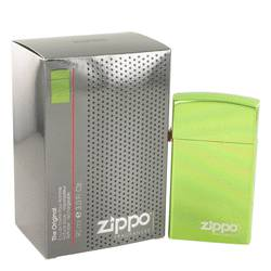 Zippo Green by Zippo Eau De Toilette Refillable Spray 3 oz for Men