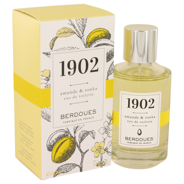 1902 Amande & Tonka by Berdoues 3.38 oz Eau De Toilette Spray for Women