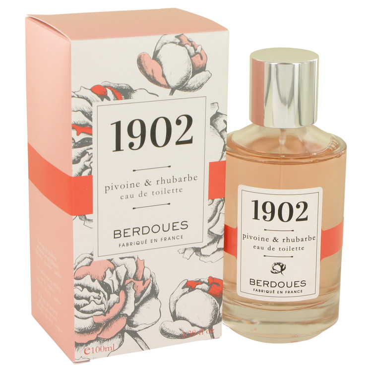 1902 Pivoine & Rhubarbe by Berdoues 3.38 oz Eau De Toilette Spray for Women