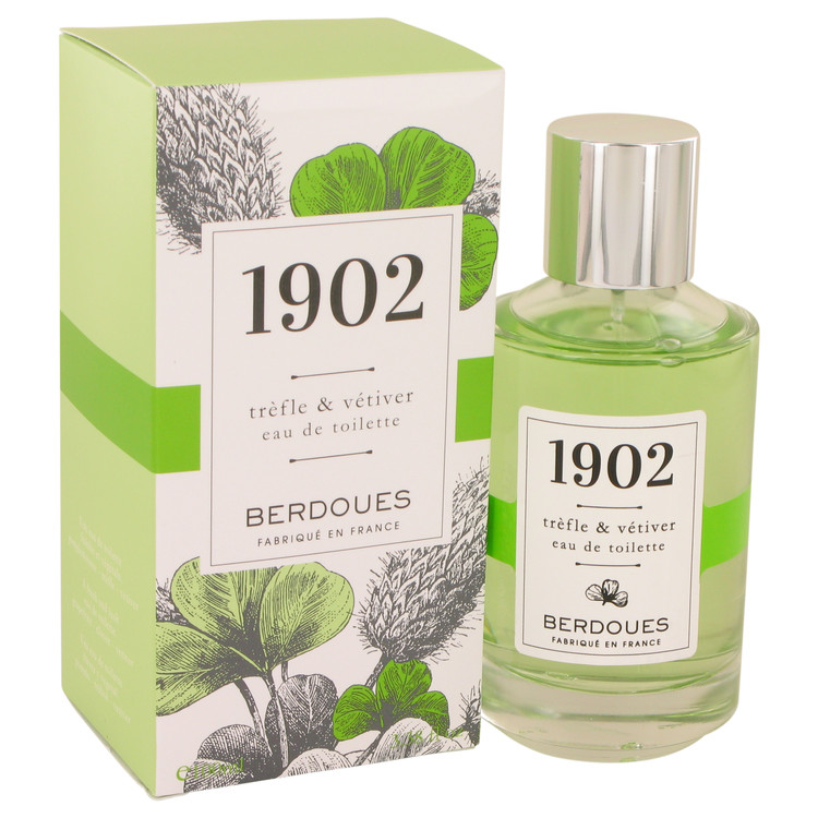 1902 Trefle & Vetiver by Berdoues 3.38 oz Eau De Toilette Spray for Women