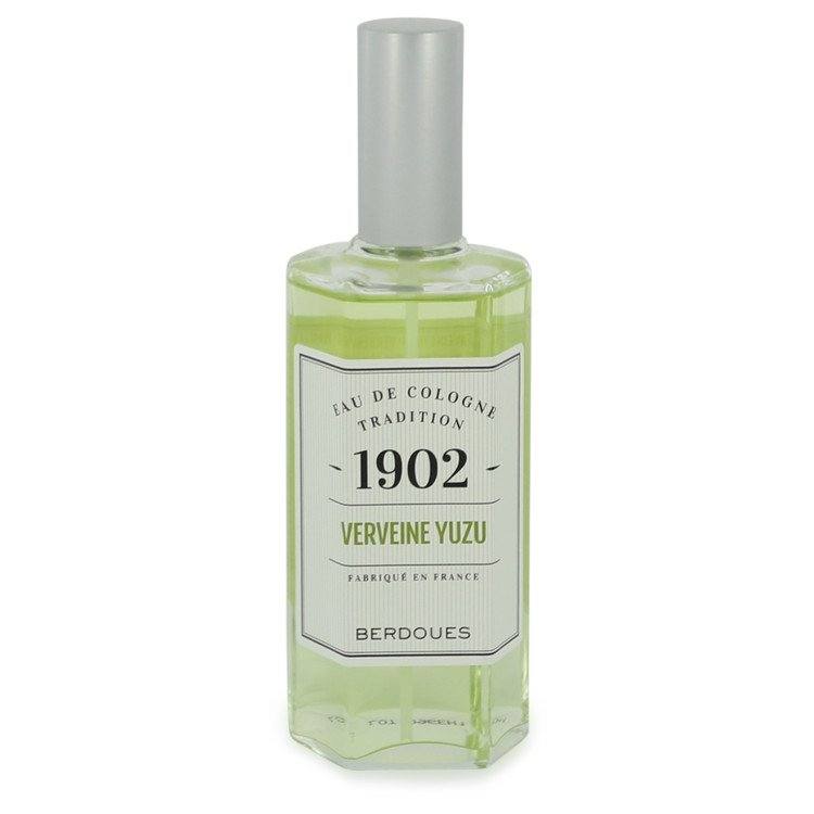 1902 Verveine Yuzu by Berdoues 4.2 oz Eau De Cologne Spray for Men