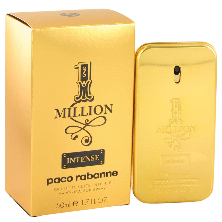 1 Million Intense by Paco Rabanne Eau De Toilette Spray 1.7 oz for Men