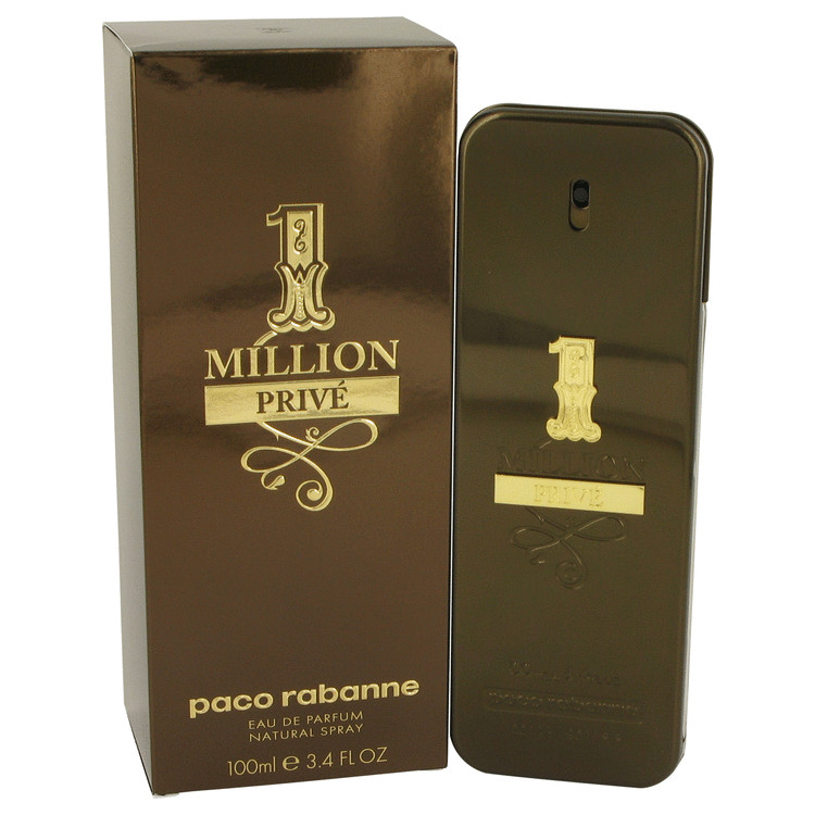 1 Million Prive by Paco Rabanne Eau De Parfum Spray 3.4 oz for Men
