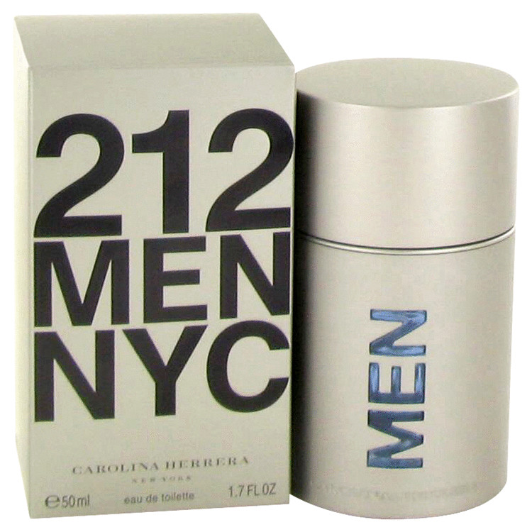 212 by Carolina Herrera 1.7 oz Eau De Toilette Spray for Men