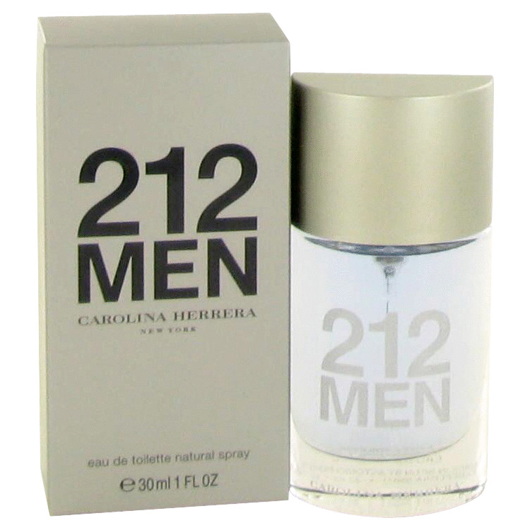 212 by Carolina Herrera 1 oz Eau De Toilette Spray for Men
