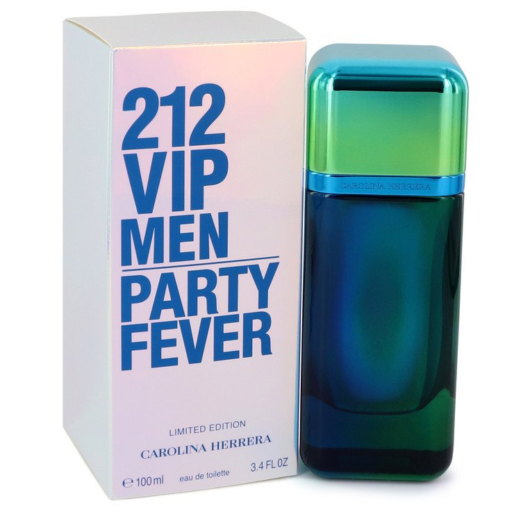 212 Party Fever by Carolina Herrera 3.4 oz Eau De Toilette Spray for Men
