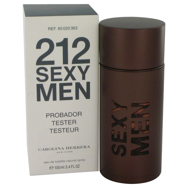 212 Sexy by Carolina Herrera 3.3 oz Eau De Toilette Spray for Men