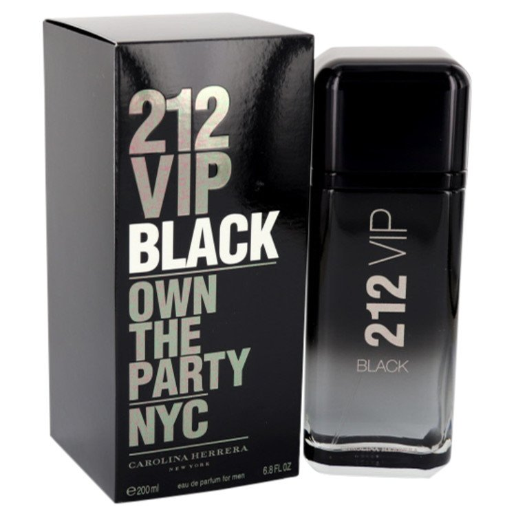 212 Vip Black by Carolina Herrera 6.8 oz Eau De Parfum Spray for Men