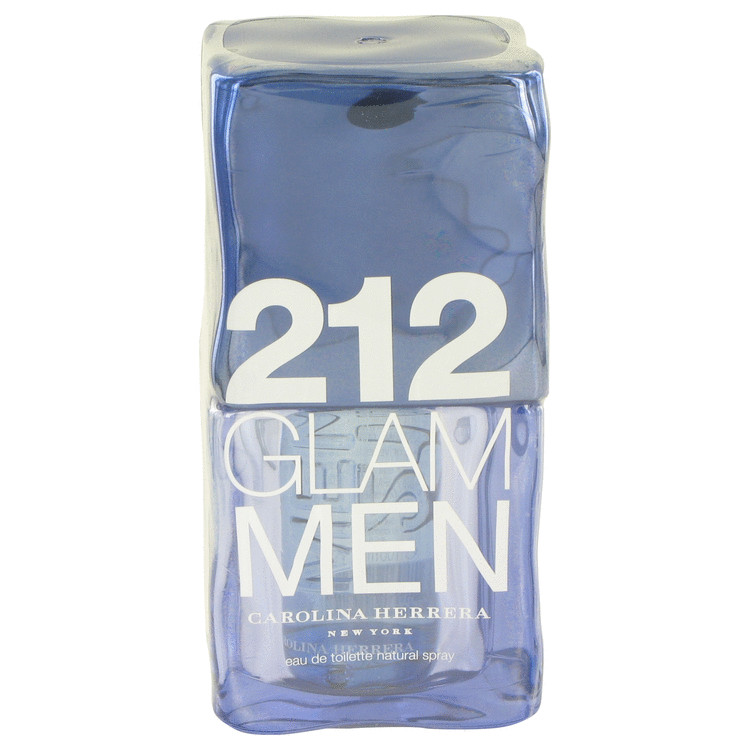 212 Glam by Carolina Herrera Eau De Toilette Spray 3.4 oz for Men