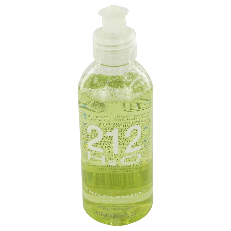 212 H20 by Carolina Herrera 8.5 oz Shower Gel/ Body Wash for Women