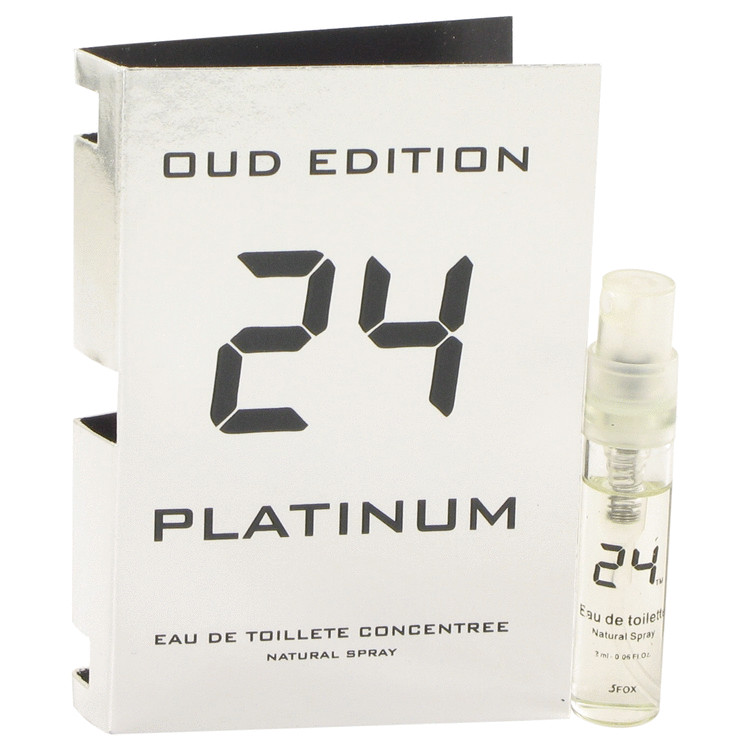 24 Platinum Oud Edition by ScentStory Vial Concentree (sample) .10 oz for Men
