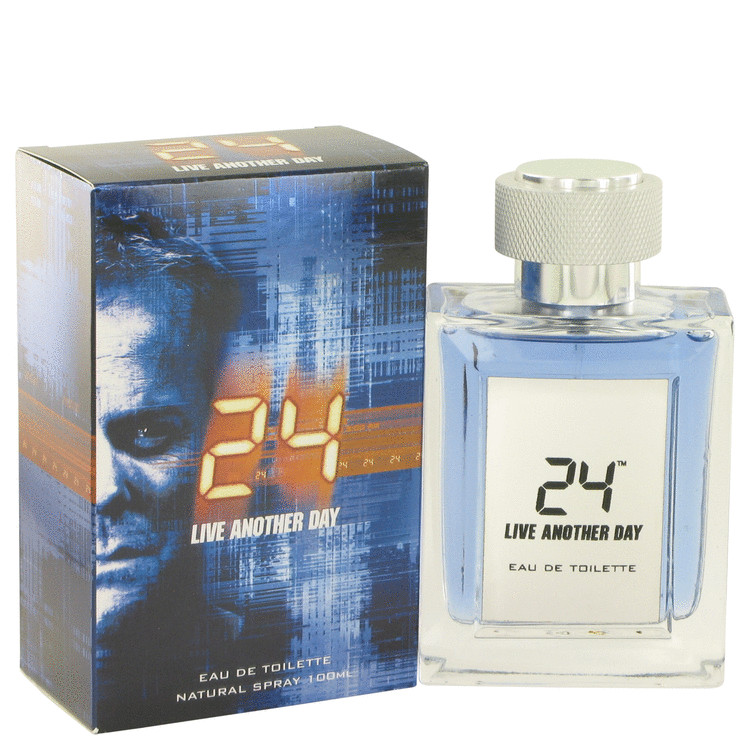 24 Live Another Day by ScentStory 3.4 oz Eau De Toilette Spray for Men