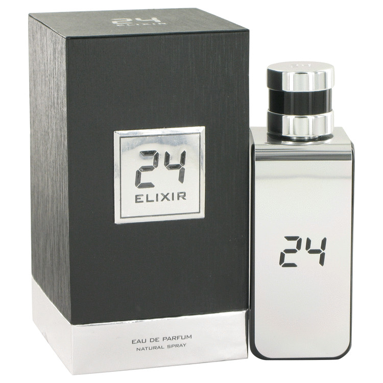 24 Platinum Elixir by ScentStory Eau De Parfum Spray 3.4 oz for Men