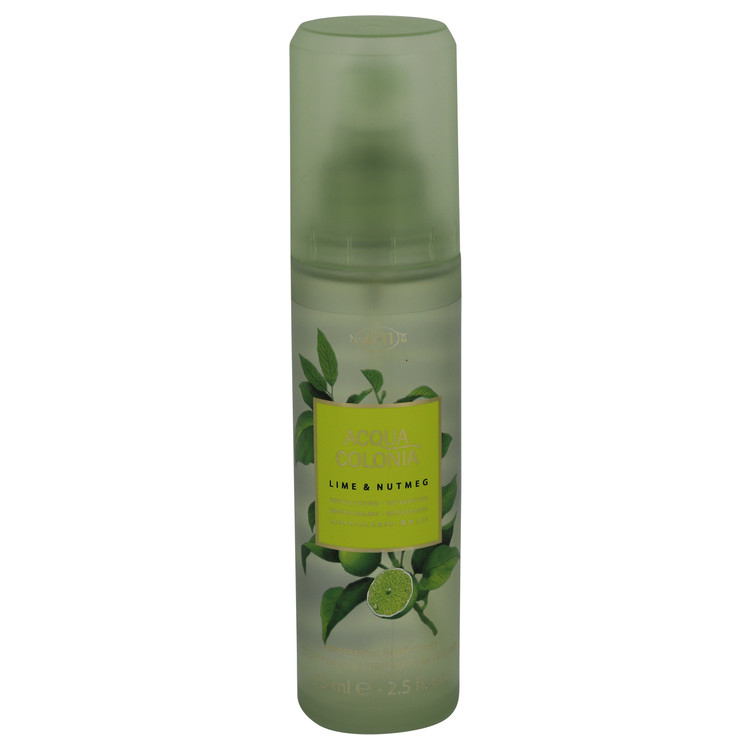 4711 Acqua Colonia Lime & Nutmeg by Maurer & Wirtz 2.5 oz Body Spray for Women