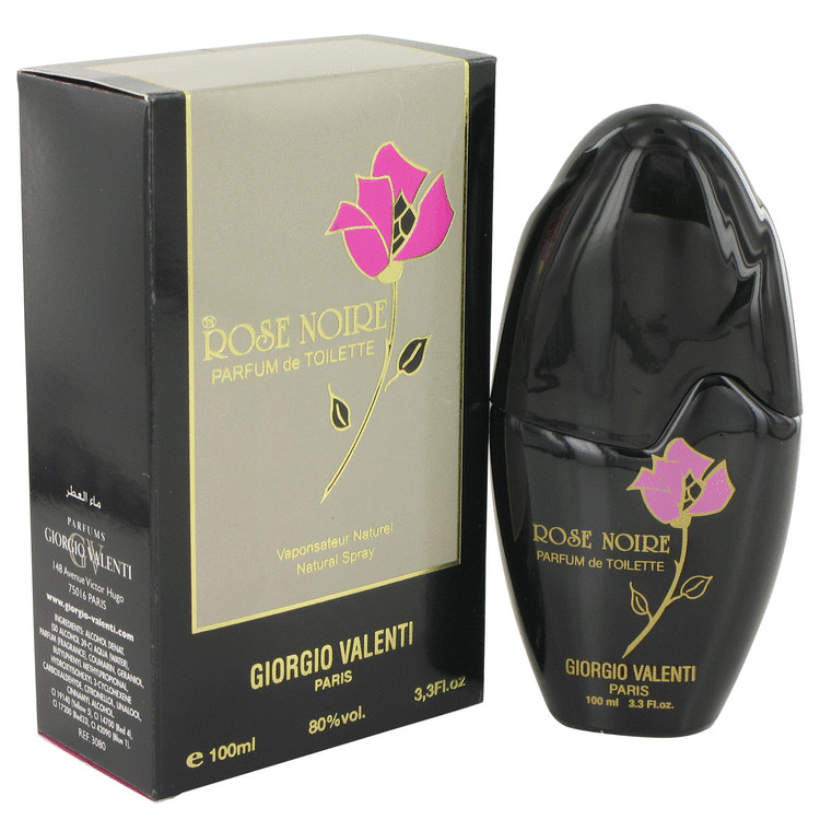 Rose Noire by Giorgio Valenti 3.3 oz Parfum De Toilette Spray for Women