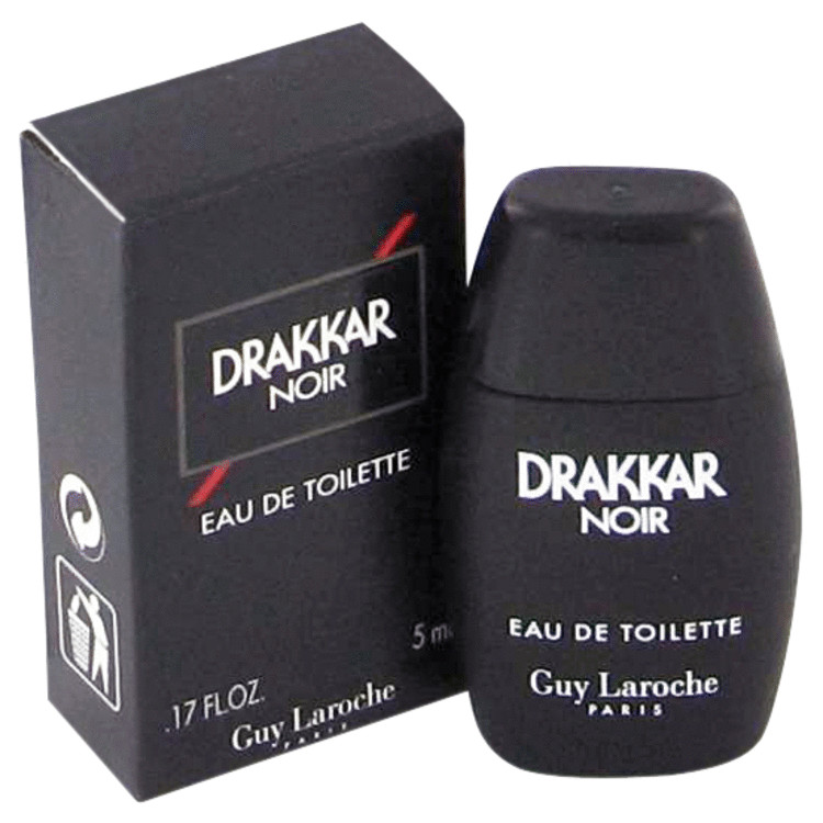 DRAKKAR NOIR by Guy Laroche Mini EDT .17 oz for Men