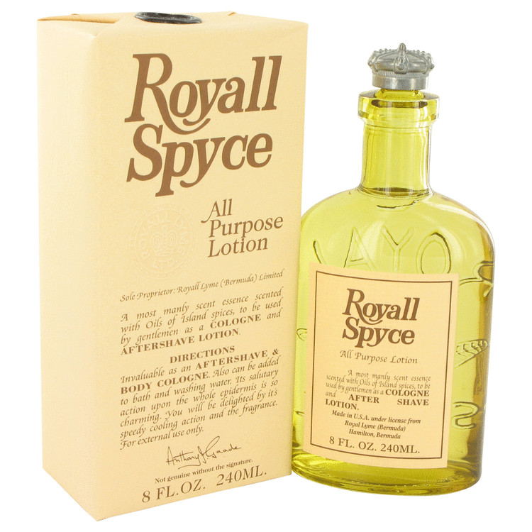 Royall Spyce by Royall Fragrances 8 oz All Purpose Lotion / Cologne for Men