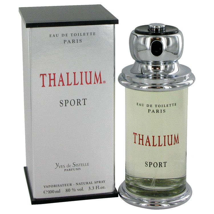 Thallium Sport by Parfums Jacques Evard 3.4 oz Eau De Toilette Spray for Men