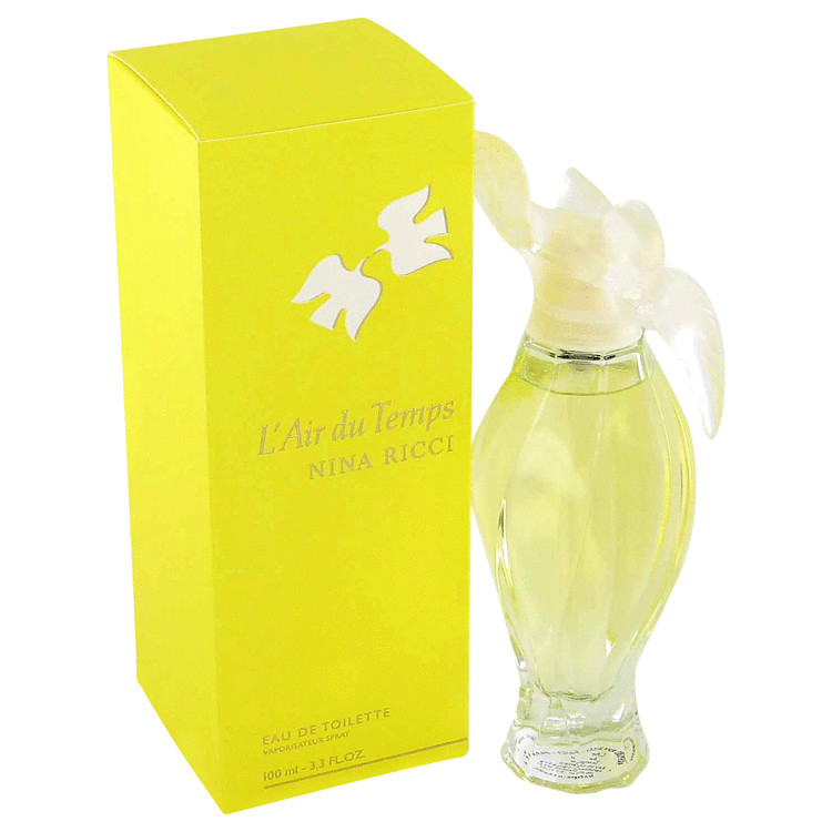 L'air Du Temps by Nina Ricci 1.7 oz Eau De Toilette Spray Refillable for Women