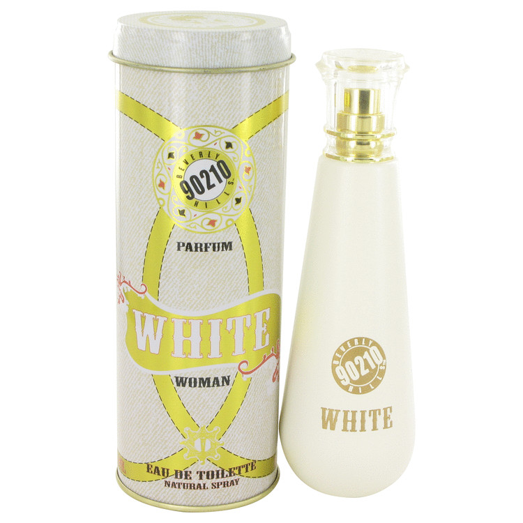 90210 White Jeans by Torand 3.4 oz Eau De Toilette Spray for Women