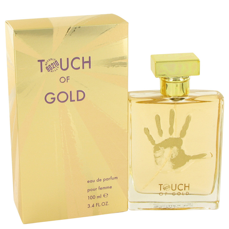 90210 Touch of Gold by Torand Eau De Parfum Spray 3.4 oz for Women