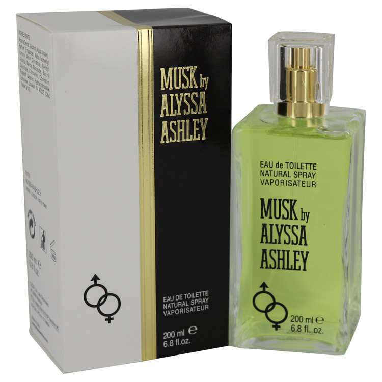 Alyssa Ashley Musk by Houbigant 6.8 oz Eau De Toilette Spray for Women