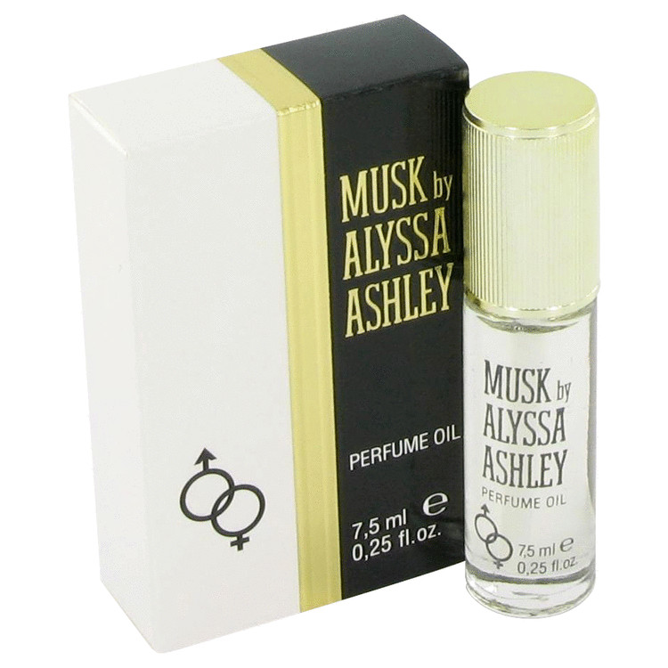Alyssa Ashley Musk by Houbigant Oil .25 oz for Women
