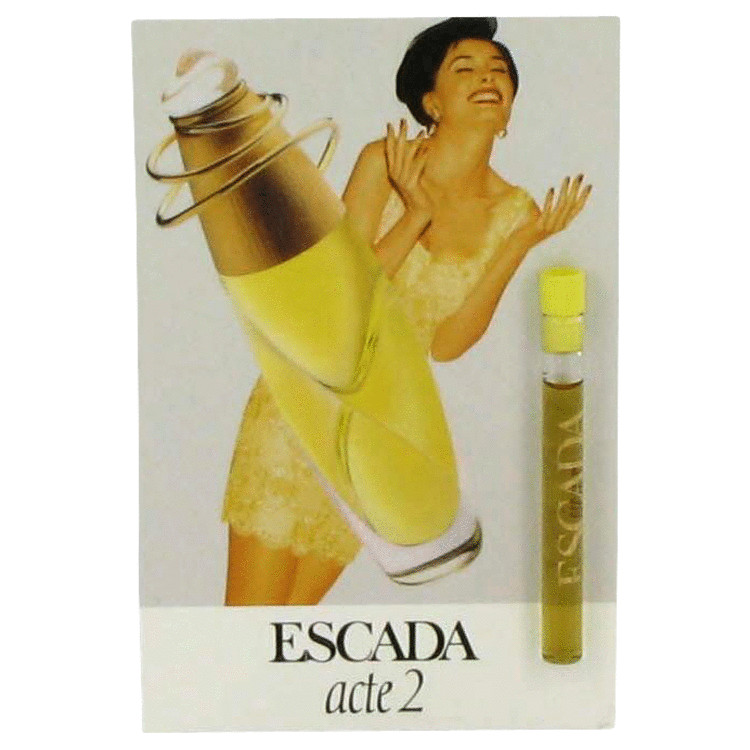 ACTE 2 by Escada Vial (sample) .04 oz for Women