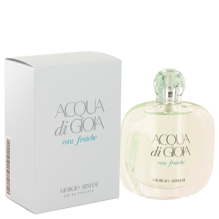 Acqua Di Gioia by Giorgio Armani 1.7 oz Eau De Toilette Fraiche Spray for Women
