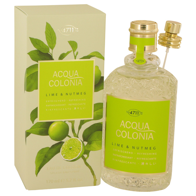 4711 Acqua Colonia Lime & Nutmeg by Maurer & Wirtz 5.7 oz Eau De Cologne Spray for Women