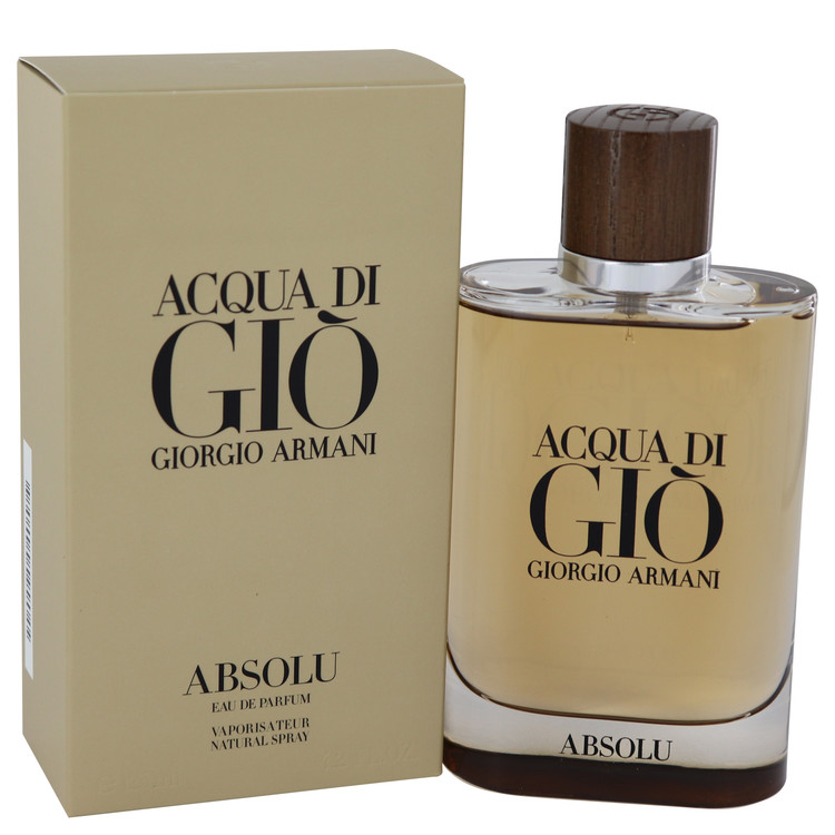 Acqua Di Gio Absolu by Giorgio Armani 4.2 oz Eau De Parfum Spray for Men