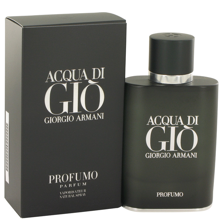 Acqua Di Gio Profumo by Giorgio Armani 2.5 oz Eau De Parfum Spray for Men