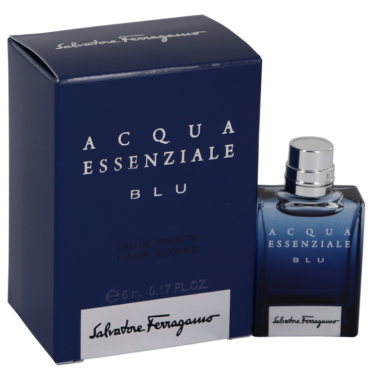 Acqua Essenziale Blu by Salvatore Ferragamo 0.17 oz Mini EDT for Men