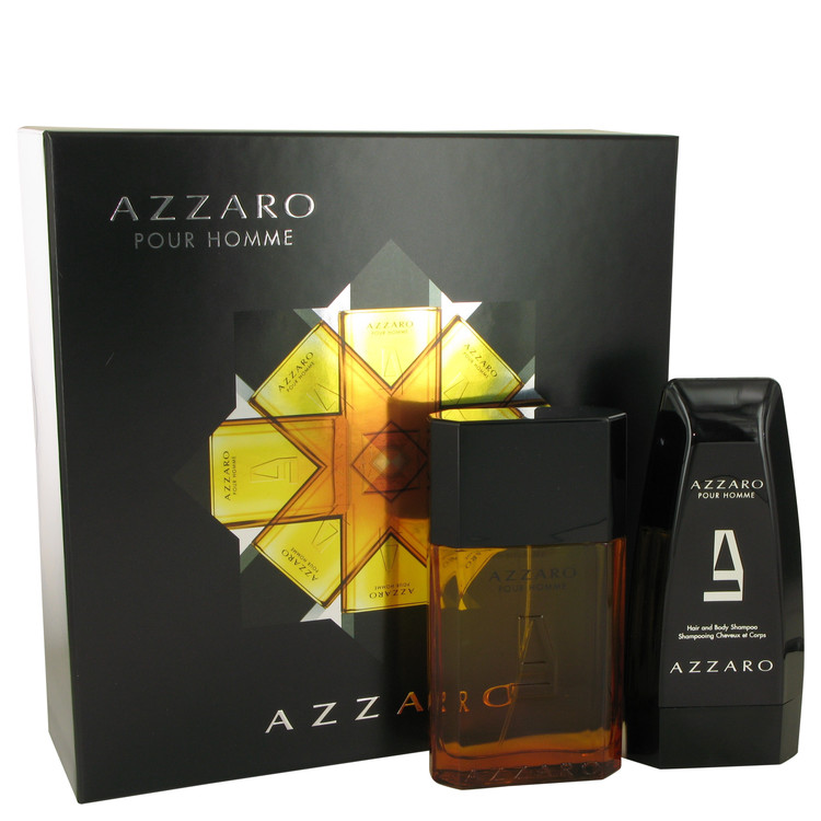 Azzaro by Azzaro 3.4 oz Eau De Toilette Spray + 5 oz Hair & Body Shampoo for Men
