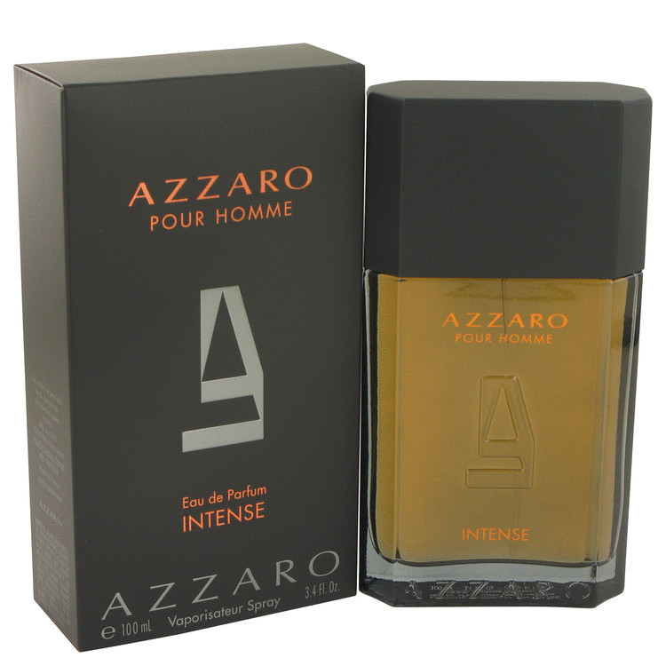 Azzaro Intense by Azzaro 3.4 oz Eau De Parfum Spray for Men