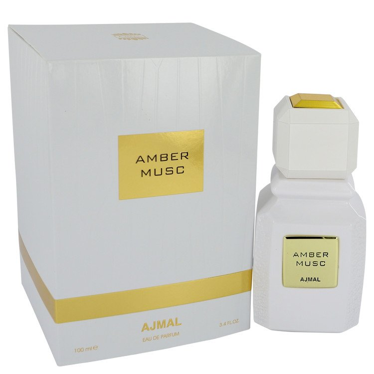 Ajmal Amber Musc by Ajmal 3.4 oz Eau De Parfum Spray for Women