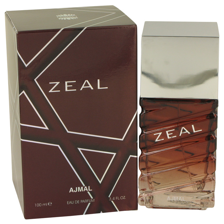 Ajmal Zeal by Ajmal 3.4 oz Eau De Parfum Spray for Men