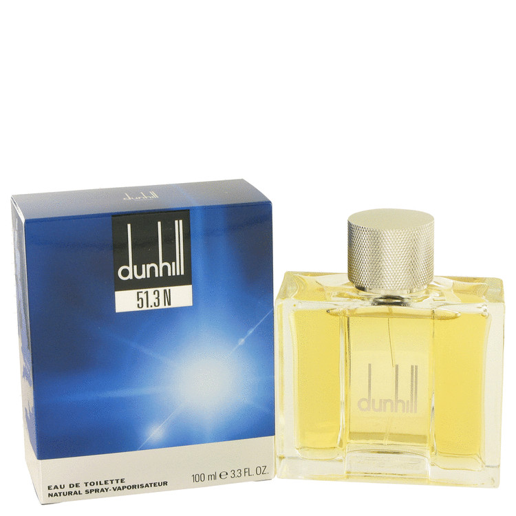 Dunhill 51.3n by Alfred Dunhill 3.3 oz Eau De Toilette Spray for Men