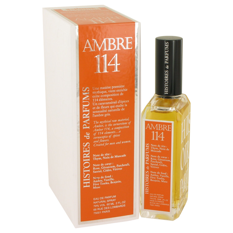 Ambre 114 by Histoires De Parfums 2 oz Eau De Parfum Spray for Women