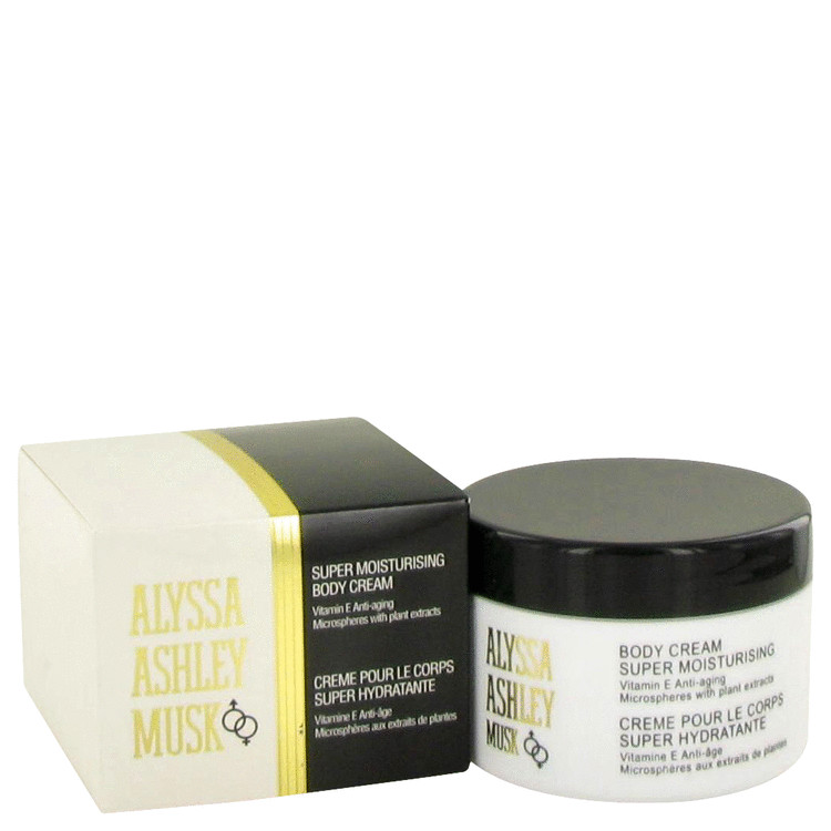 Alyssa Ashley Musk by Houbigant 8.5 oz Body Cream for Women